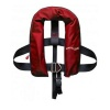 Automatic Life Jacket Kids with Harness 150N Red 15-40kg